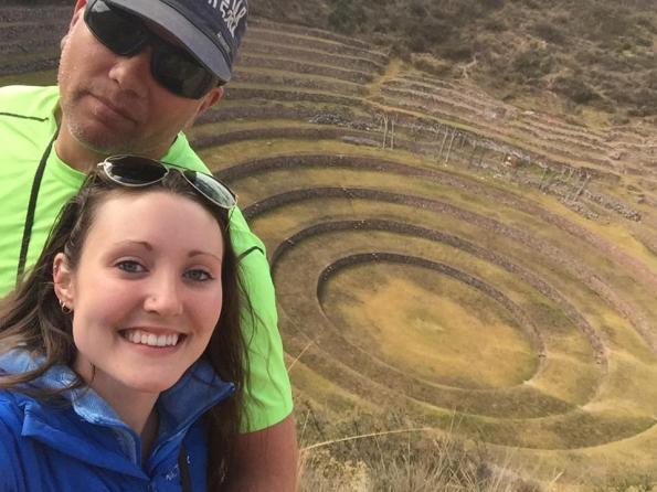 Incan agricultural terraces of Moray - Savannah Grace