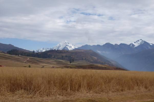 on our way to Ollantaytambo, Peru