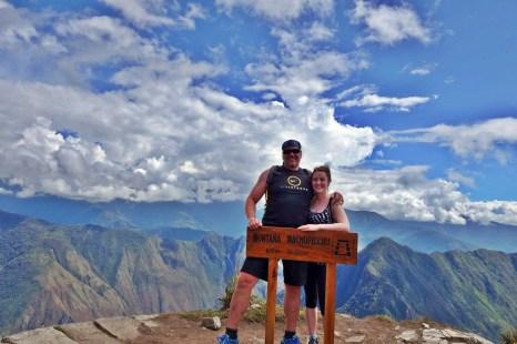 hiking to Machu Picchu. - Savannah Grace