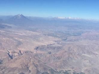 the arid Andes Peru