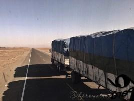 Highway in Peru
