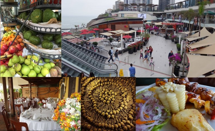 Lima - Enjoying city life and eating delicious, Monastery of San Francisco, record breaking food.