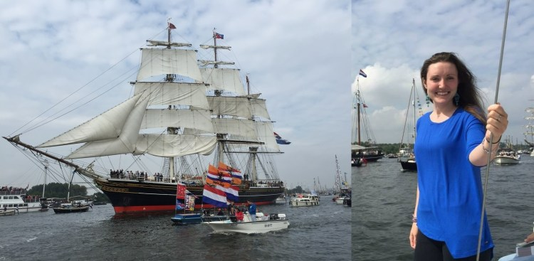 Tall Ships SAIL - An incredible event to witness and be part of, especially since it happens only once every 5 years. History is really brought to life on this day and I was grateful to spend my second SAIL experience with good friend and fellow author Jessica Jessicalipowski,com