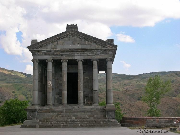 Pagan temple Armenia