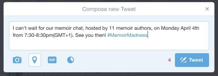 #MemoirMadness