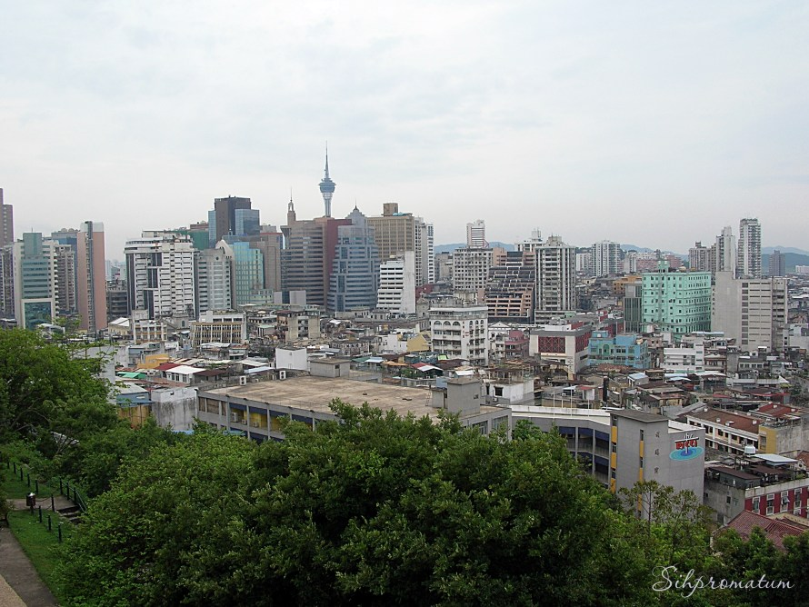 Macau. with the Macau Tower Convention & Entertainment Centre being the tallest. ,China