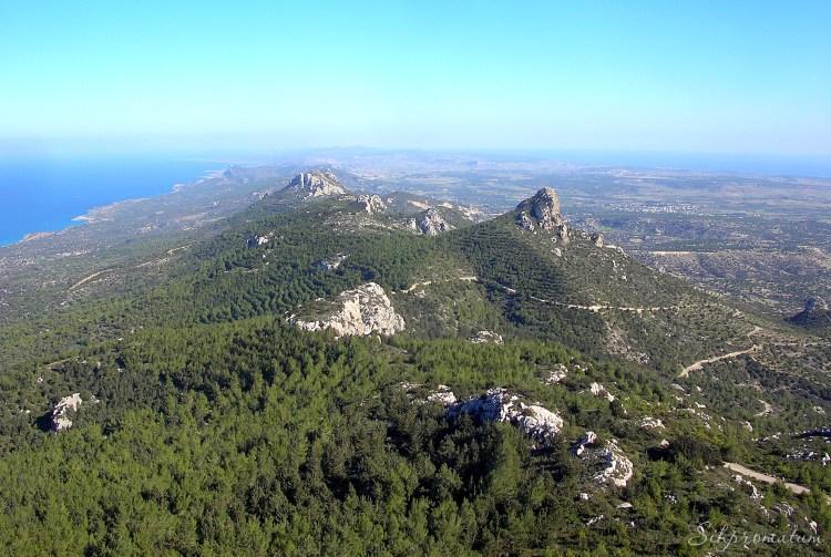 Kyrenia Mountain range.