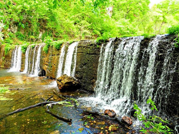 Natural Falls State Park, Oklahoma, USA