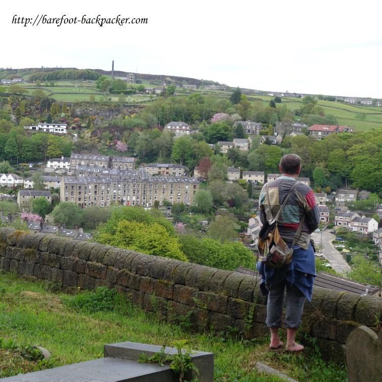 town of Hebden Bridge, Yorkshire, UK.