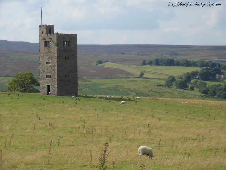 This is part of the Peak District, technically within the boundaries of the city of Sheffield.