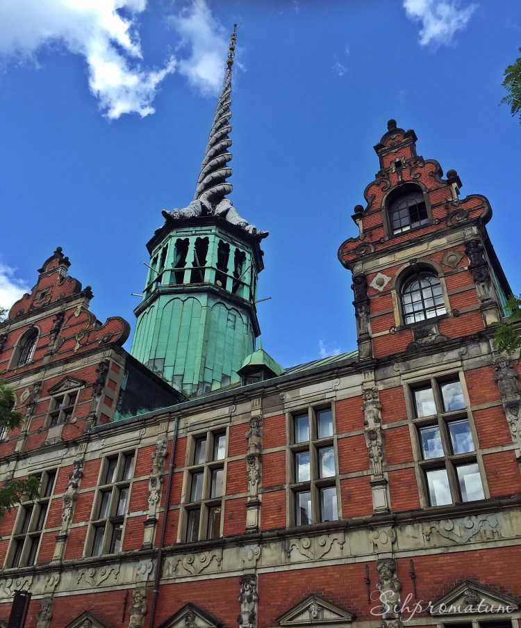 Borsen is a 17th-century stock exchange in the center of Copenhagen