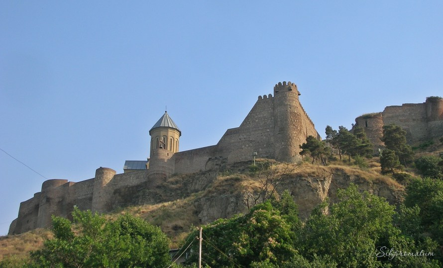 Ananuri is a castle complex
