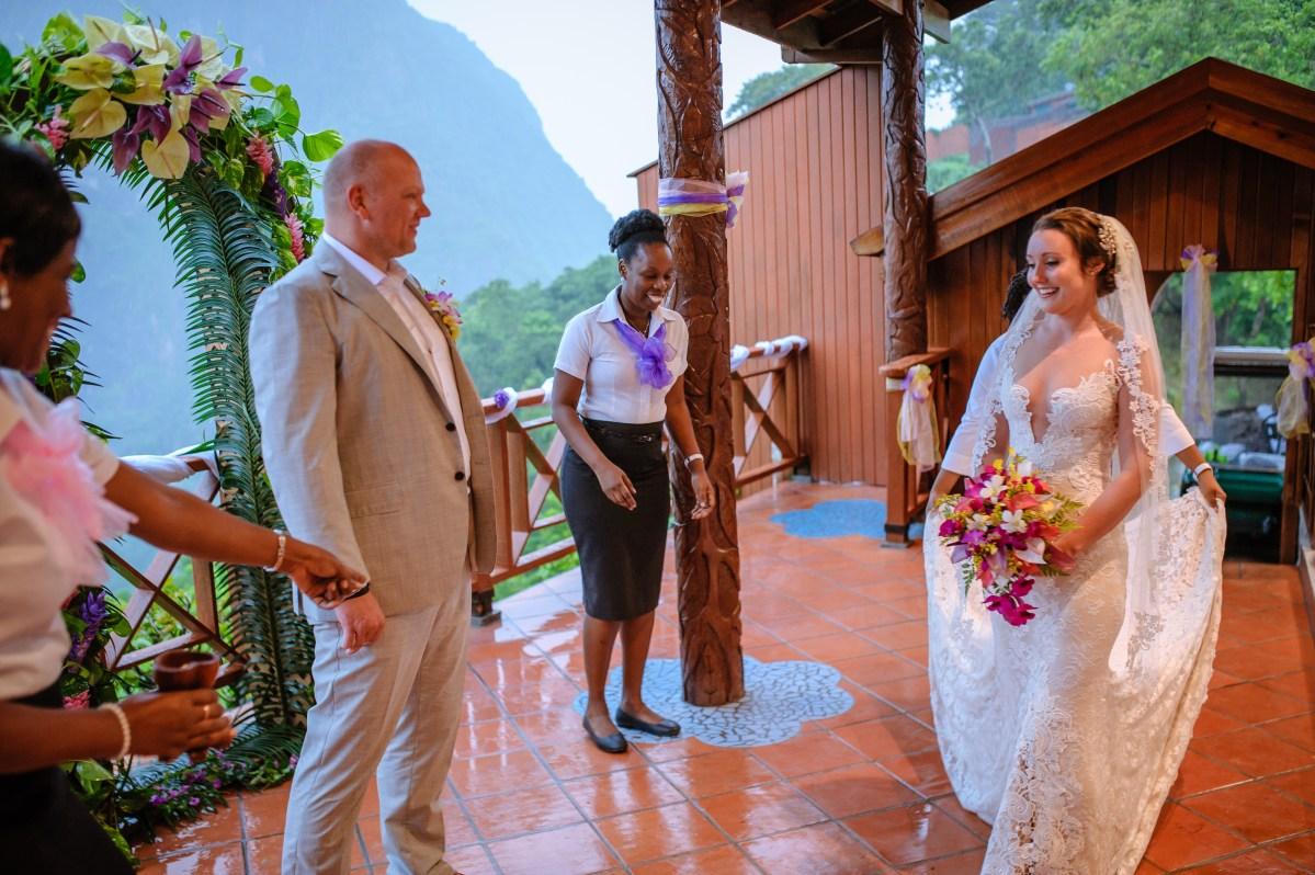 My wonderful wet wedding