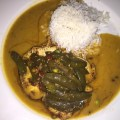 Chicken Curry at Bananas