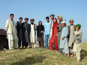 A day with strangers that become friends in Kunduz