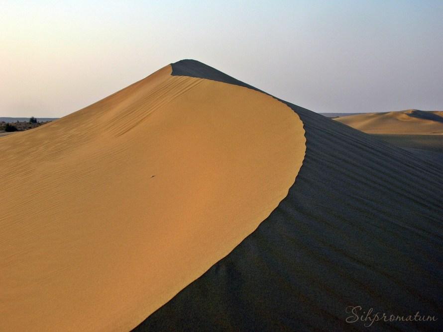 Thar Desert in Rajashan