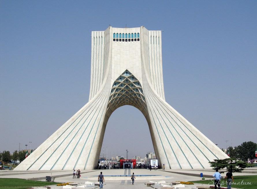 Azadi tower, Tmakeehran