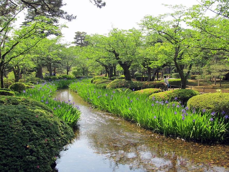 kenroku-en garden, kanazawa  Japan
