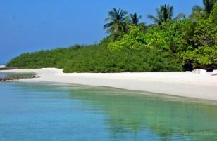 White sands of The Maldives