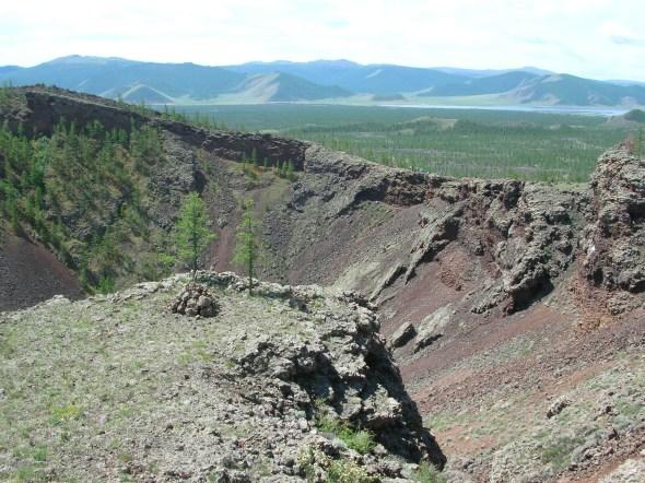 Khorgo volcano