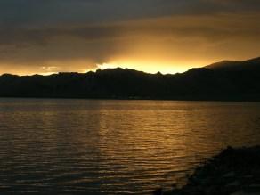 Late sunset, White Lake