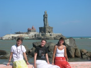 Southern most point - Kanyakumari