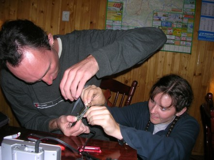 Repairing the MP3 player