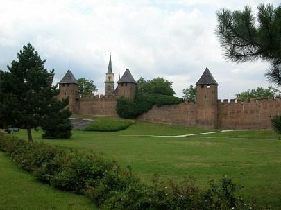 Nymburk's medieval walls