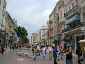 Strolling the streets of Sofia, Bulgaria