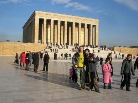 Ataturk's tomb, Ankara