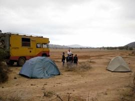 Camping near Mt. Hanang