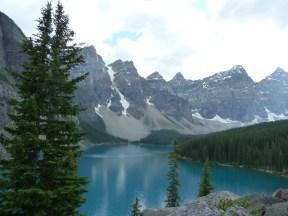 Lake Moraine Mt Rundle, Banff National Park