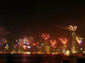 I almost began to feel ripped off about the lack of a significant personal breakdown of any kind, though we did, by sheer happenstance, see the nightly firework and laser light show from Hong Kong's seawall on our last night in the city.