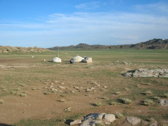 Mongolian Ger, Backpacks and Bra Straps ch 2