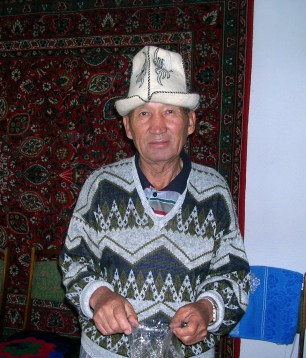 Men from the rural Kyrgyzstan
