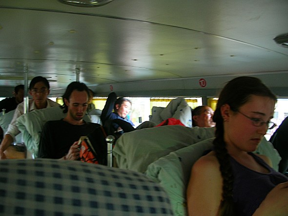 bus rides in Western China