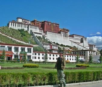 Patalo Palace. Tibet. Bacipacks and Bra Straps