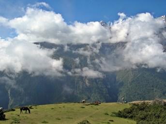 Trekking in NepalBackpacks and Bra Straps.