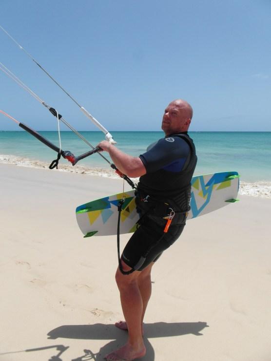 Kite surfing, Cape Verde