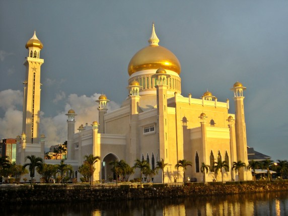Sultan Omar Ali Saifuddien Mosque is one of the most