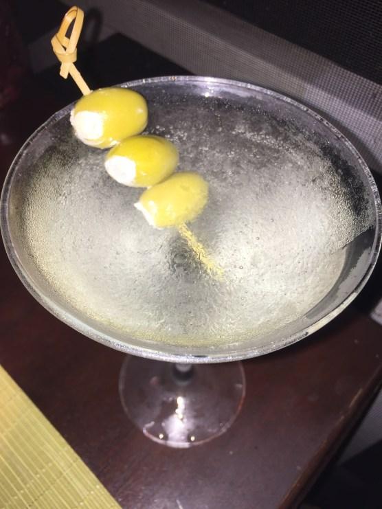 Martini Bleu at Four Season's Coral Grill