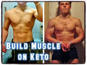 how to build muscle on keto