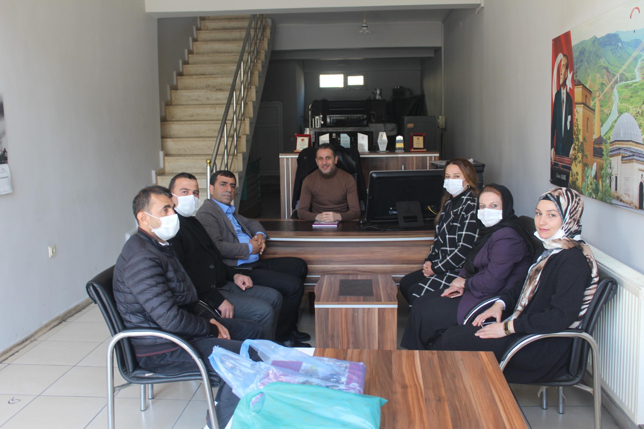HDP'DEN BASIN MENSUPLARINA ZİYARET