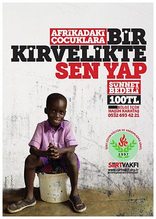 Afrikada Sünnet Organizasyonu Yardım Etkinliği Siirt Vakfı