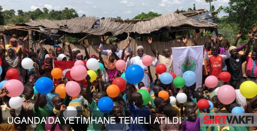 Uganda'da Yetimhane Projesi ve Su Kuyuları