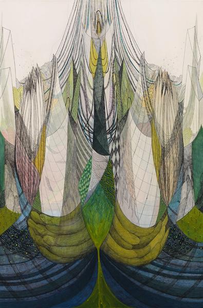koreanartist_sijaebyun_contemporary_art_artwork_fineart_painting_silk_on_canvas_mixedmedia_ink_acrylic6