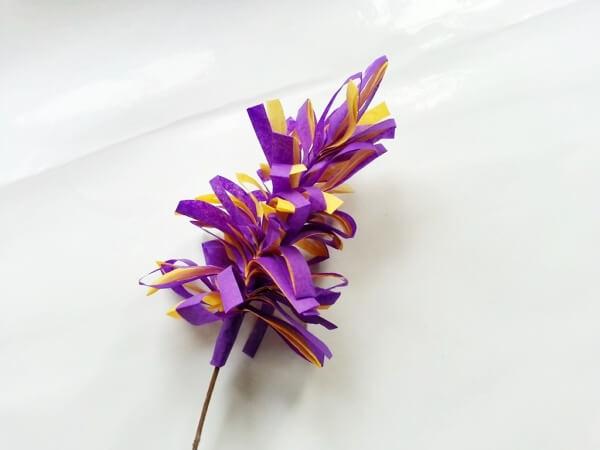 Langkah 7 Cara Membuat Bunga Dari Tisu