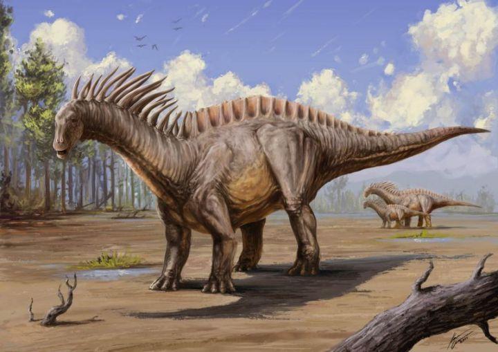 Jenis, Dinosaurus Si Leher Berduri