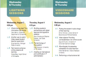 conference programme screencapture