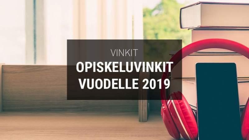 Opiskeluvinkit asuntosijoittajalle vuodelle 2019